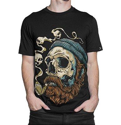 Camiseta Printfull Sailor Skull