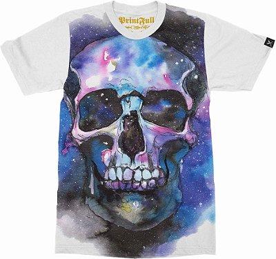 Camiseta Printfull Space Skull 2