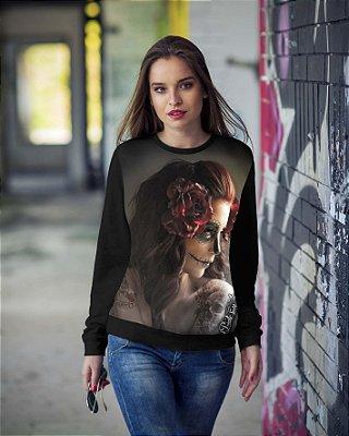 Blusa de Frio Printfull Feminina Beauty