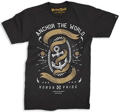 Camiseta Printfull Anchor The World