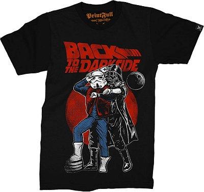 Camiseta Printfull Back To The Darkside