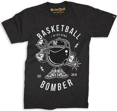 Camiseta Printfull Basketball Bomber