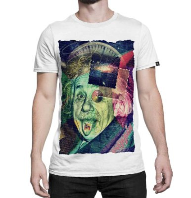 Camiseta Printfull Einstein's Secret