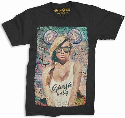Camiseta Printfull Ganja Baby