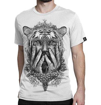 Camiseta Printfull Tigerman Drawing