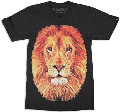 Camiseta Printfull Lion Nature