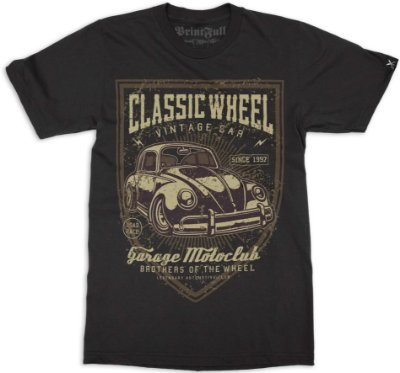 Camiseta Printfull Classic Wheel