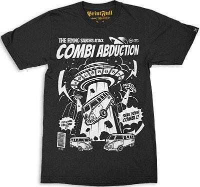 Camiseta Printfull Combi Abduction