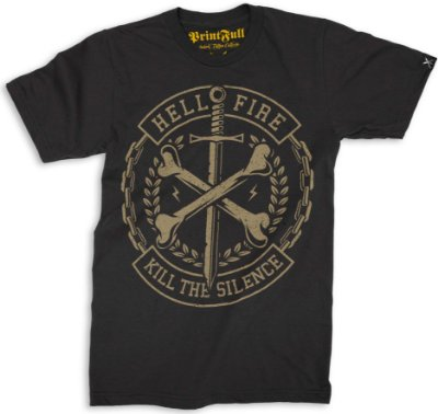 Camiseta Printfull Cross Bones