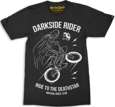 Camiseta Printfull Darkside Rider