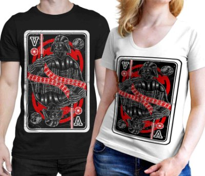 Camiseta Printfull King Of The Darkside