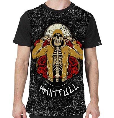 Camiseta Printfull Hip Hop and Roses