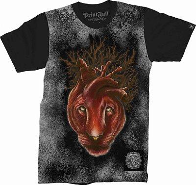 Camiseta Printfull Lioness Heart