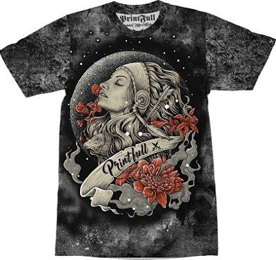 Camiseta Printfull Moon Girl