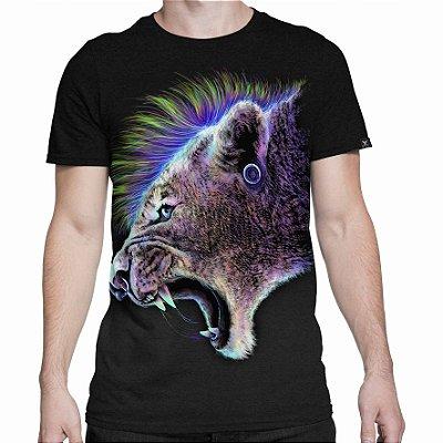 Camiseta Printfull Punk Tiger