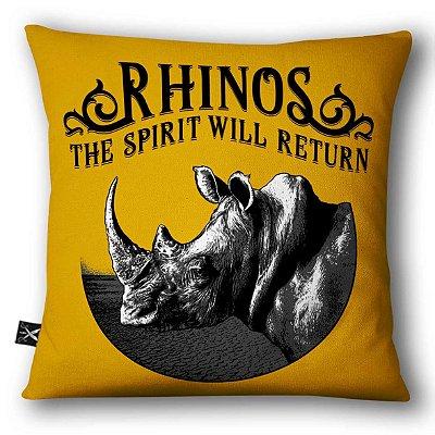 Almofadas Printfull White Rhinos
