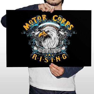 Poster Printfull Motor Corps