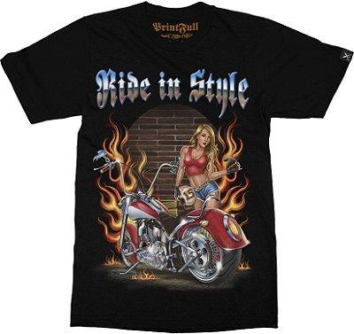 Camiseta Printfull Ride in Style