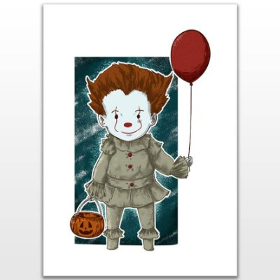 Poster Printfull Little Clown