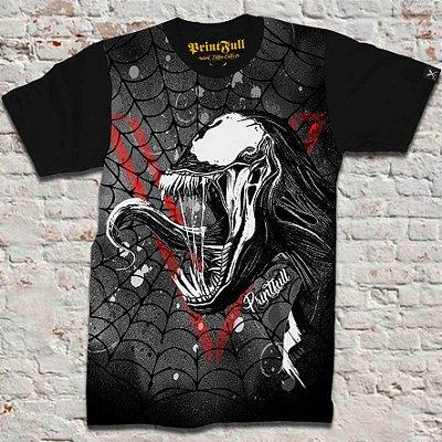Camiseta Printfull V of Venom