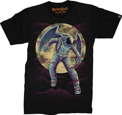 Camiseta Printfull Astronot Black