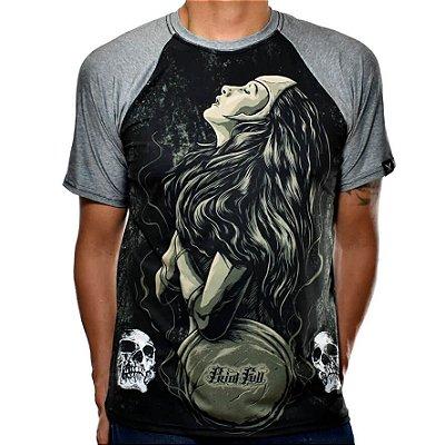 Camiseta Raglan Printfull Fairywar