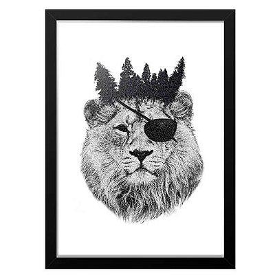 Quadro Printfull King Of The Jungle