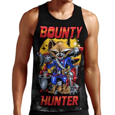 Regata Masculina Printfull Bounty Hunter
