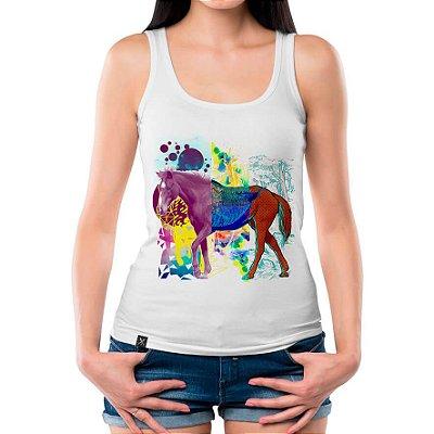 Regata Feminina Printfull Crazy Horse