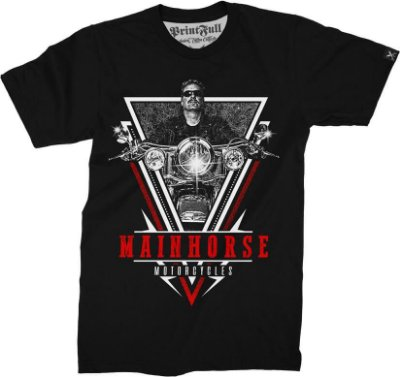 Camiseta Printfull Mainhorse