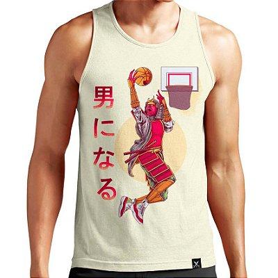 Regata Masculina Printfull Skill Basket A Samurai