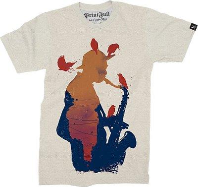 Camiseta Printfull Sunset Jazz