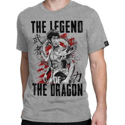 Camiseta Printfull The Legend of the Dragon