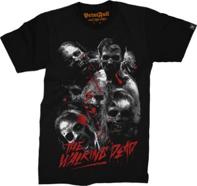 Camiseta Printfull The Walking Dead