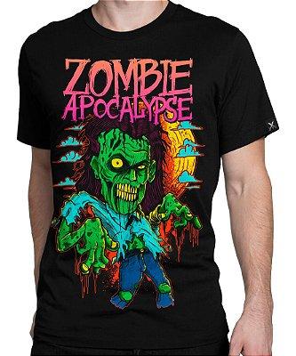 Camiseta Printfull Zombie Apocalypse