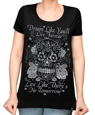 Camiseta Printfull Sugar Skull