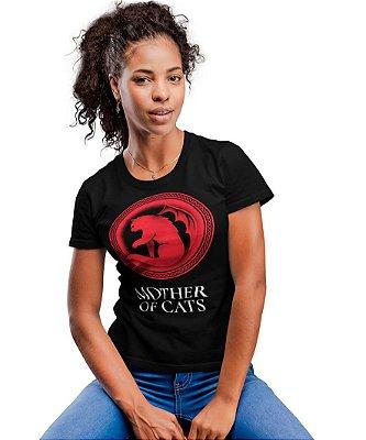 Camiseta Feminina Printfull Mother of Cats