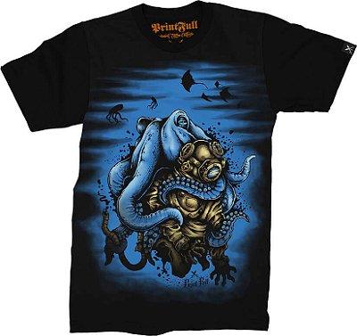 Camiseta Printfull Deep Water Mistery