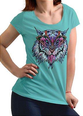 Camiseta Printfull Tiger Butterfly - feminina