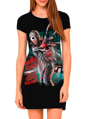 Vestido Printfull tipo camiseta t-shirt dress Jason