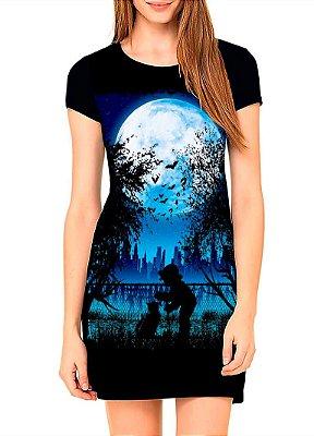 Vestido Printfull tipo camiseta t-shirt dress Beautiful Night