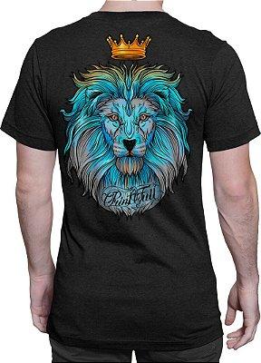 Camiseta Printfull Lion King Colorful - masculina