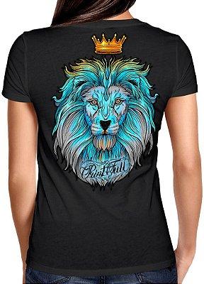 Camiseta Printfull Lion King Colorful - feminina