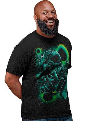 Camiseta Printfull Free Space - masculina