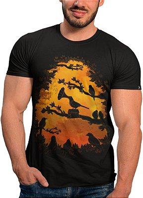Camiseta Printfull  A Birds Song - masculina