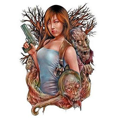 Caçadora de  Zombie