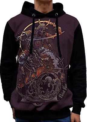 Blusa De Frio Printfull Moletom Samuraian Centaur - Unissex