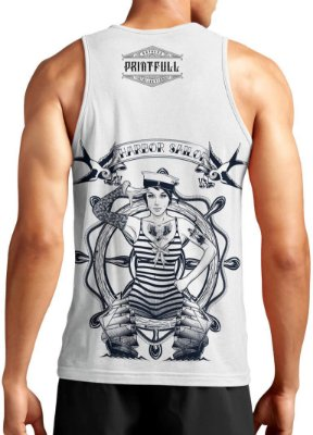 Regata Masculina Printfull Harbor Sailor