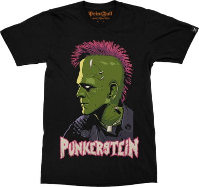 Camiseta Printfull Punkerstein