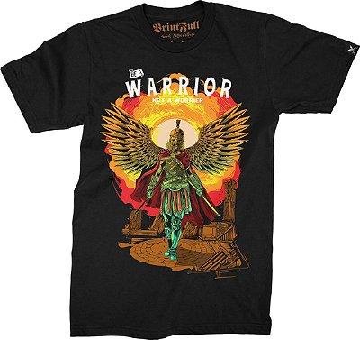Camiseta Printfull Be a Warrior not worrier